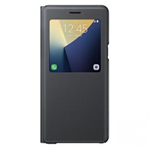 Samsung S View Fabric Premium Case for Galaxy Note 7 - Black