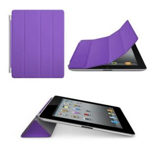 Magnetic Purple Smart Cover Case Stand for Apple iPad 2