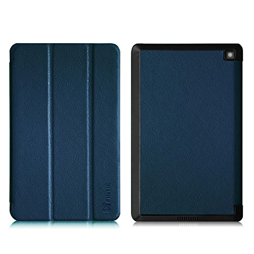 Fintie Fire HD 6 Case - Ultra Slim Lightweight SmartShell Cover with Auto Sleep / Wake Feature (will only fit Amazon Kindle Fire HD 6, 6-Inch HD Display Tablet 4th Generation - 2014 Release), Navy