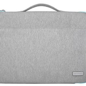 Mosiso Laptop Sleeve Protective Handbag Briefcase Bag Carrying Case Cover for 12.9 iPad Pro / 13.3 Inch Laptops / Notebook Computer / MacBook Air / MacBook Pro, Gray