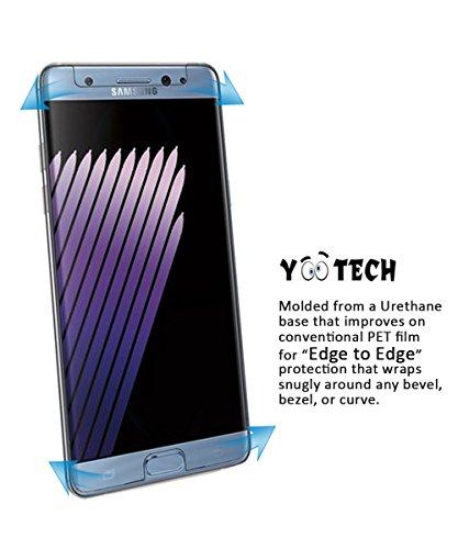 Galaxy Note 7 Screen Protector[Anti-Lifting],YOOTECH [Full Coverage][Case Friendly][Anti-Scratch][Reusable] Screen Protector for Samsung Galaxy Note 7 Clear HD Anti-Bubble Film - Lifetime Warranty