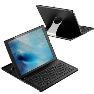"iPad Pro 12.9 Keyboard Case, JETech Wireless Bluetooth Keyboard Case for Apple iPad Pro 12.9"" with Multi-Angle Stand - 2015"