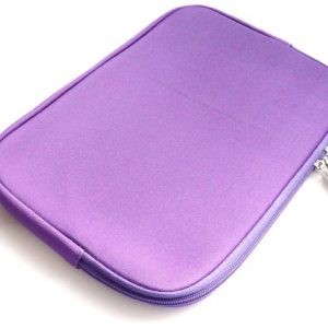 Emartbuy Water Resistant Neoprene Soft Zip Case Cover Sleeve for 10.1-Inch Lenovo Ideapad Miix 300 Tablet - Purple