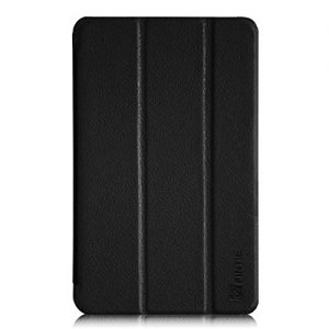 Fintie Fire HD 6 Case - Ultra Slim Lightweight SmartShell Cover with Auto Sleep / Wake Feature (will only fit Amazon Kindle Fire HD 6, 6-Inch HD Display Tablet 4th Generation - 2014 Release), Black