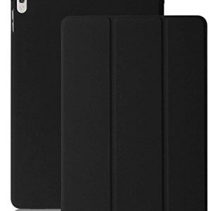"""iPad PRO Case 9.7 - KHOMO® Dual Black Case for iPad Pro 9.7"""" - Ultra Slim Lightweight with Stand and Magnetic Smart Cover Auto Wake Sleep On / Off Function Full Body Protection for new Apple iPad PRO 9.7 - Black"""
