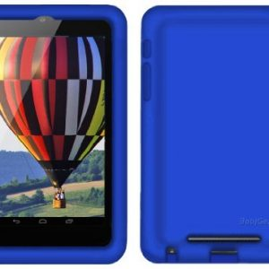 Bobj Rugged Case for Nexus 7 1st Generation 2012 WiFi or 3G/4G Tablet (Not for Nexus 7 FHD 2nd Generation 2013) - BobjGear Protective Tablet Cover - Batfish Blue