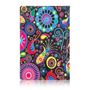 32nd® Designer Book Style Faux Leather Folio Case Cover for Sony Xperia Z4 Tablet (SGP771) - Jellyfish Design