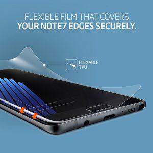 **2-Pack** Galaxy Note 7 Screen Protector, Spigen® [Flex HD] **Case-Friendly** TPU Film for Samsung Note 7, Samsung Note 7 Screen Protector 562FL20657