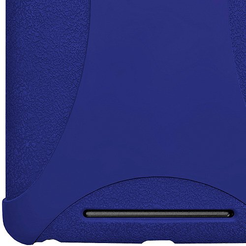 Amzer Silicone Skin Jelly Case Cover for Asus/Google Nexus 7 Tablet - Blue