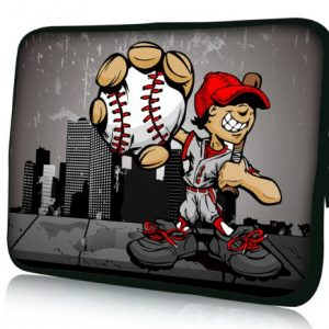 "Baseball boy 9.7"" 10"" 10.1"" 10.2 inch Laptop Netbook Bag Case Cover Pouch For Apple Ipad 4 3 2 1 /Samsung GALAXY Tab 2 Note /Amazon Kindle DX /Asus Transformer Pad TF201 TF300 TF300T TF700/Microsoft Surface RT Windows Pro 10.6""/Lenovo Ideapad Thinkpad/Acer Aspire ONE ASUS EEEPC /HP Mini 110 210/Dell Inspiron Mini 9 10/Toshiba /Acer Iconia A200 W500 / Archos Arnova G2 /Google Android Nexus 10 /Sumsang NC10/Sony Computer Tablet PC Cover"
