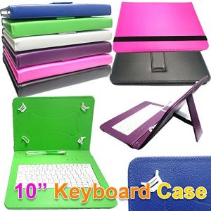 "10.1"" inch PU Leather Keyboard Case For Asus Zenpad 10 16gb Android 5.0 Tablet UK Layout"