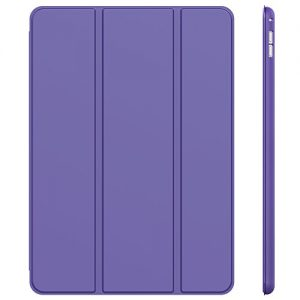 iPad Pro Case, JETech® iPad Pro Slim-Fit Smart Case Cover for Apple 12.9 Inch iPad Pro 2015 Model with Auto Sleep/Wake Function (Purple)