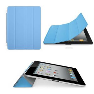 Magnetic Protective Flip Smart Cover Skin Case Stand for iPad 2 3 4 - Blue