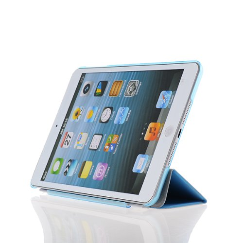 Tedim Ultra Thin Smart Case Protective Cover for Apple iPad Air - Blue