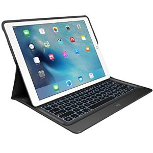 Logitech Create Backlit Keyboard Case with Smart Connector Technology for iPad Pro 12.9 - (QWERTY, UK Layout)