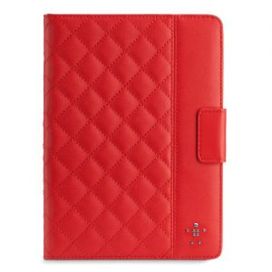 Belkin Quilted Cover iPad Air Case with Stand - Rose