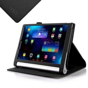 IVSO Lenovo YOGA 2 10.1-Inch Flip Case - Slim Folio Book Case Cover for Lenovo YOGA 2 10.1-Inch Tablet (Black)