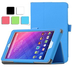Acer Iconia One 8 B1-830 Case - IVSO Slim-Book Stand Cover Case for Acer Iconia One 8 B1-830 8.0-Inch Tablet (For Iconia One 8 B1-830 8.0-Inch, Blue)