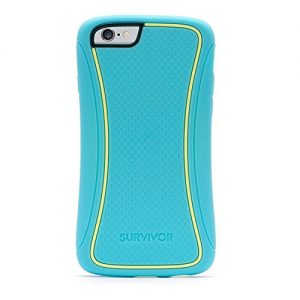 GRIFFIN Survivor Slim Case for iPhone 6 - Turquoise/Jaune