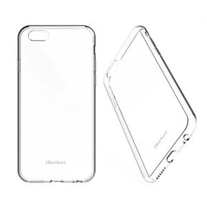 iPhone 7 Case - iHarbort Protective iPhone 7 Clear Transparent TPU Gel Case Cover For iPhone 7 with Flexibility & Shock Absorption Function, Transparent