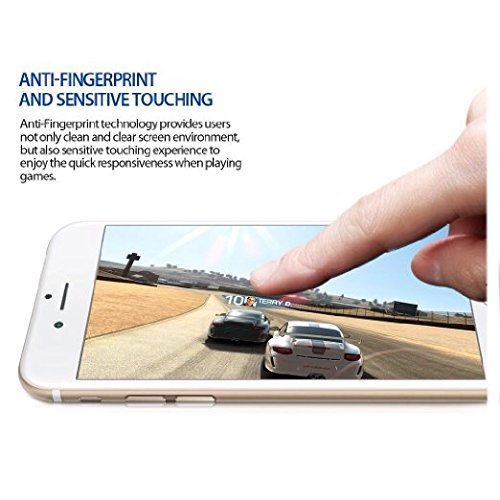 DN-Alive Premium Crystal Clear Tempered Glass Screen Protector for iPhone 6