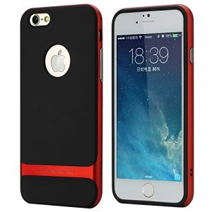 Genuine ROCK Royce Ultra slim Hybrid Shockproof Case Cover (iPhone 6 4.7, Red)