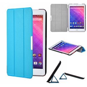 Acer Iconia One 8 B1-820 Case - IVSO Slim Smart Cover Case for Acer Iconia One 8 B1-820 8-Inch Tablet (Blue)