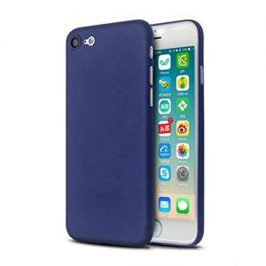 For iPhone 7 4.7'' , Xinantime Ultra Thin Slim Shockproof Matte Hard Cover (Navy Blue)
