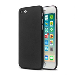 Amlaiworld Ultra Thin Slim Shockproof Matte Hard Cover For iPhone 7 4.7 Inch Case Ultra Thin Slim Shockproof Matte Hard Cover (Black)