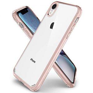 Spigen 064CS24875 Ultra Hybrid Designed for Apple iPhone XR Case Cover (2018) - Rose Crystal
