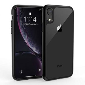 Syncwire UltraRock iPhone XR Case, iPhone XR Protective Cover with Advanced Drop Protection and Air Cushion Safeguard Technology for Apple iPhone XR (2018) – Matte Black