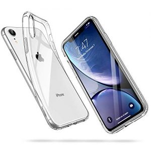 "ESR Clear Case for iPhone XR, Slim Clear Soft TPU Cover [Supports Wireless Charging] for The iPhone XR 6.1"" (Released in 2018), Clear"