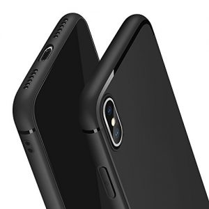 """Swenky iphone Xs Case Perfect Slim Fit Ultra Thin Protection Series TPU Black for Apple 5.8"""" iPhone Xs/iPhone x case"""