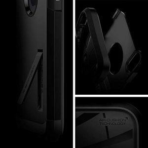 Spigen 057CS22160 Tough Armor Designed for iPhone Xs Case (2018) iPhone X Case (2017) – Matte Black