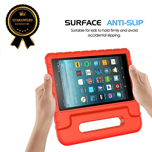 2017 Fire 7 inch case- Kids Shock Proof Convertible Handle Light Weight Super Protective Stand Cover for Amazon Fire Tablet (7″ Display -Universal 2015 Fire 7 inch)