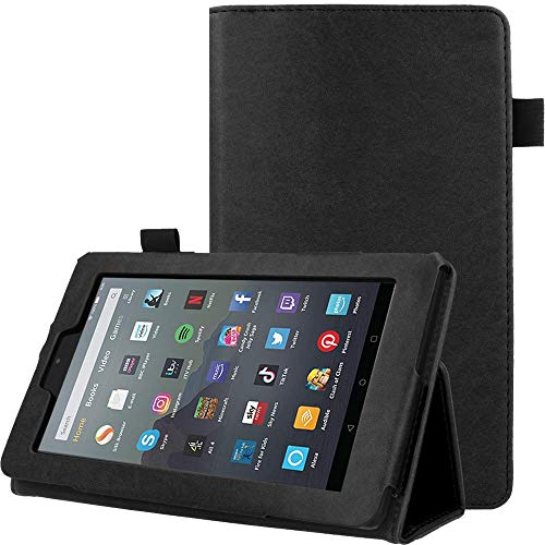 "TECHGEAR PU Leather Case fits Amazon Fire 7"" (2019 Edition/9th Gen)"