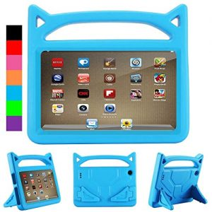Luka Fire HD 7 Tablet Case for Kids- Light Weight Shock Proof Handle Protective Cover with Built-in Stand for Fire 7 inch Display Tablet (Compatible with 2015&2017 Release)